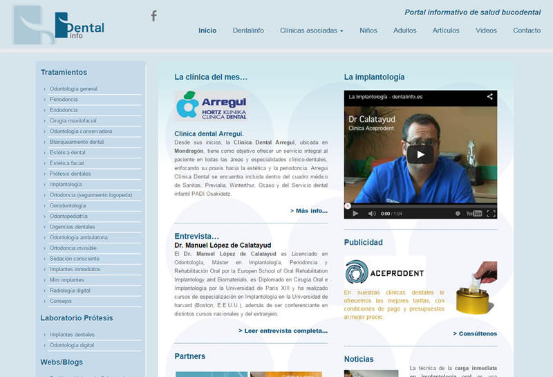 Dentainfo | Portal salud bucodental