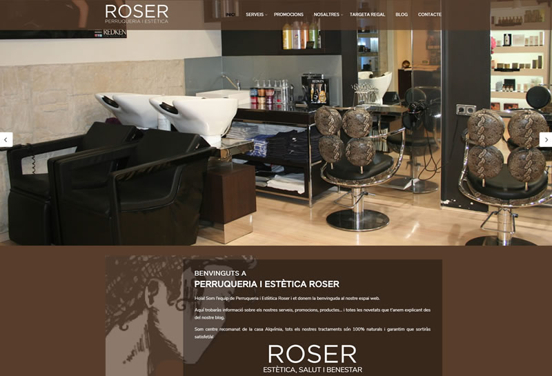 Perruqueria i Estètica Roser