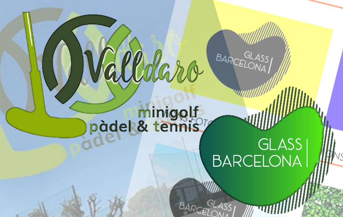 Logos Valldaro i Glass Barcelona | Estudi 33