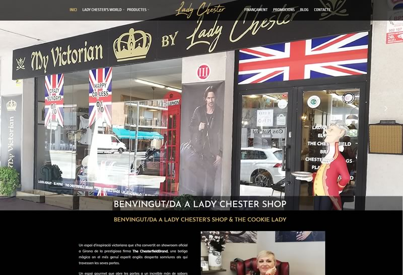 Lady Chester Shop